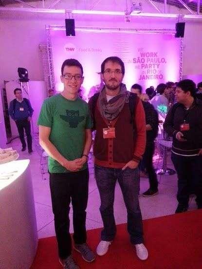 Conversamos com o fundador do Duolingo, Louis von Ahn, depois de sua palestra