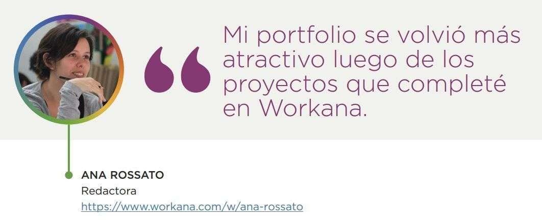 Caso de éxito - Ana Rossato