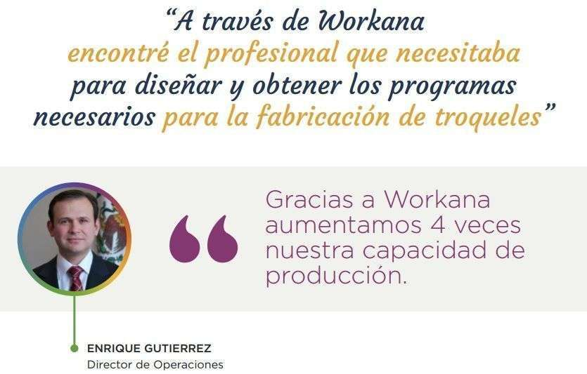 Caso de éxito de Enrique Gutierrez