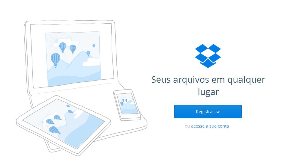 dropbox - armazenamento online