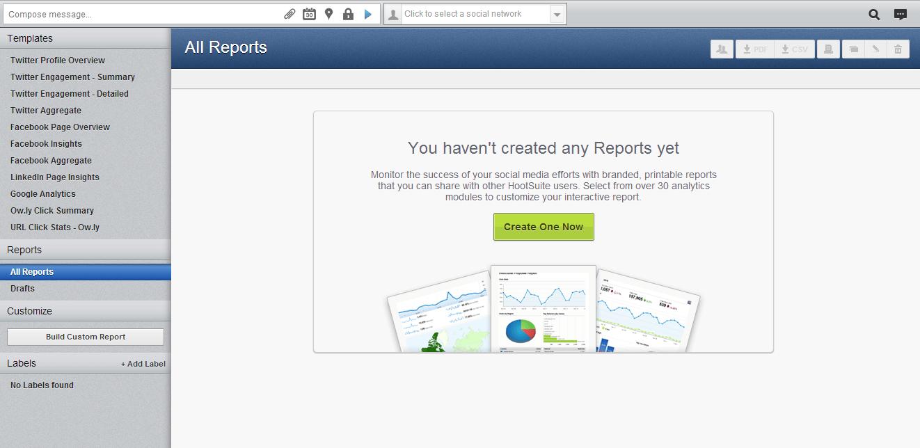 hootsuite_templates de relatório