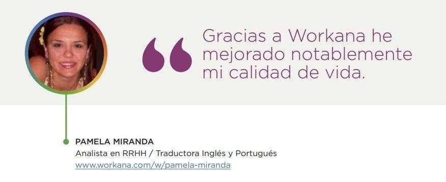 Casos de éxito - Pamela Miranda