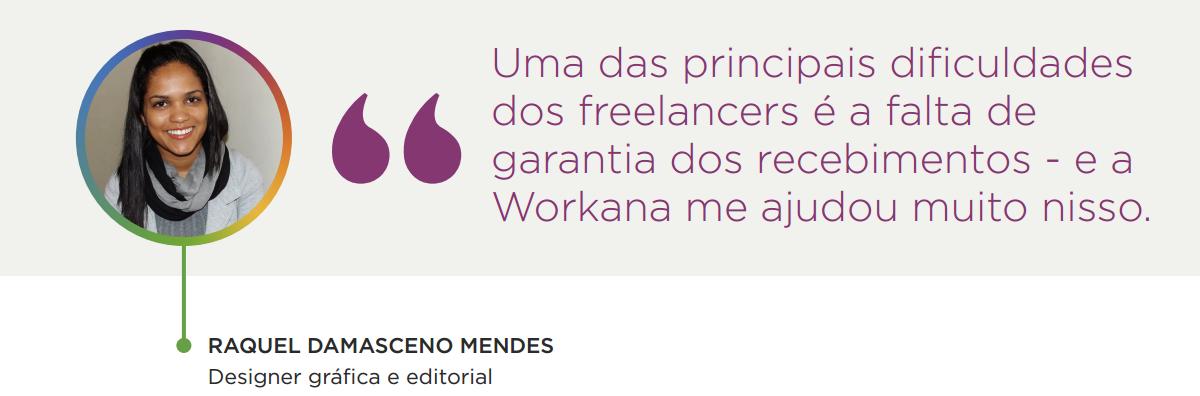 caso de sucesso na Workana - Raquel Damasceno Mendes