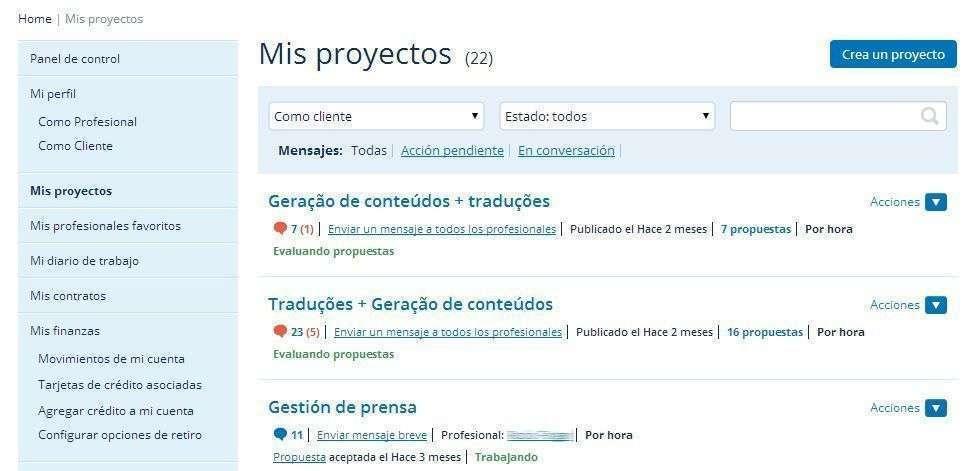 Mis Proyectos 3