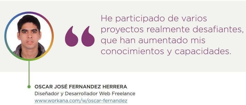 Oscar Fernandez - talento 2