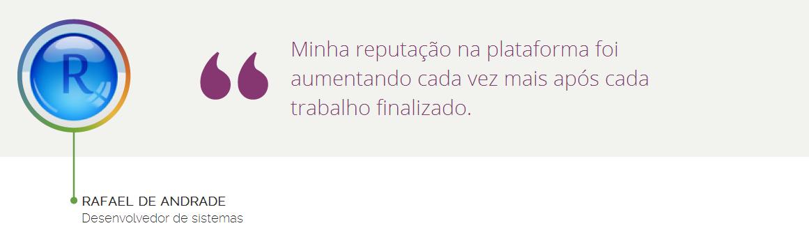 Rafael de Andrade - casos de sucesso na Workana