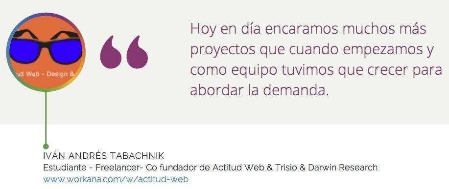 Iván Tabachnik: desarrollador web