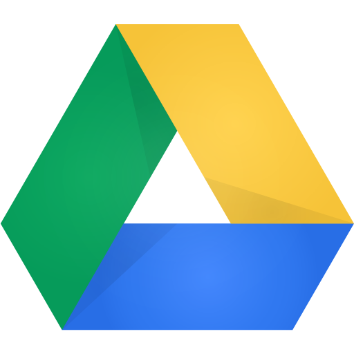 Apps telefone: google drive