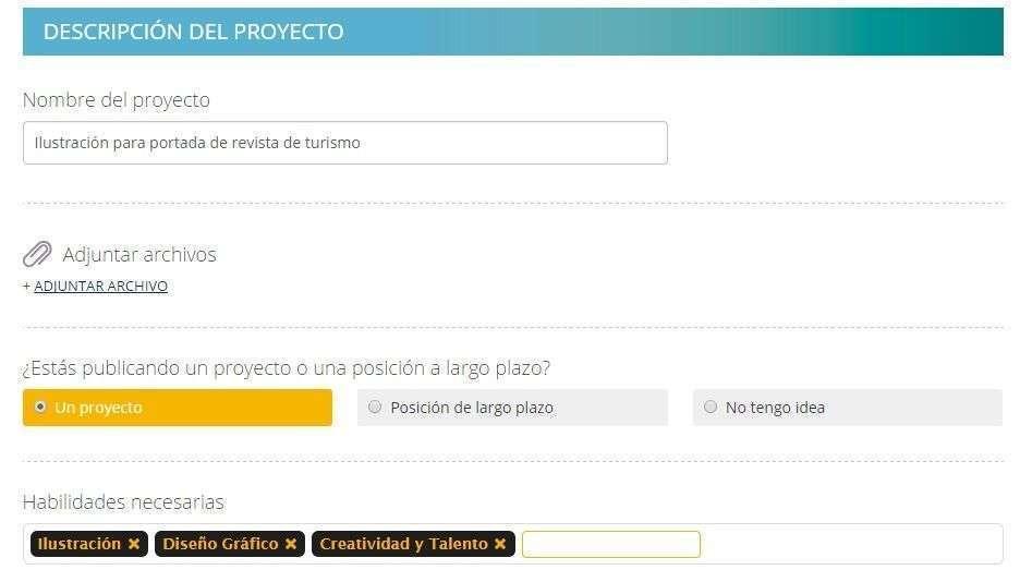 crear proyectos 3