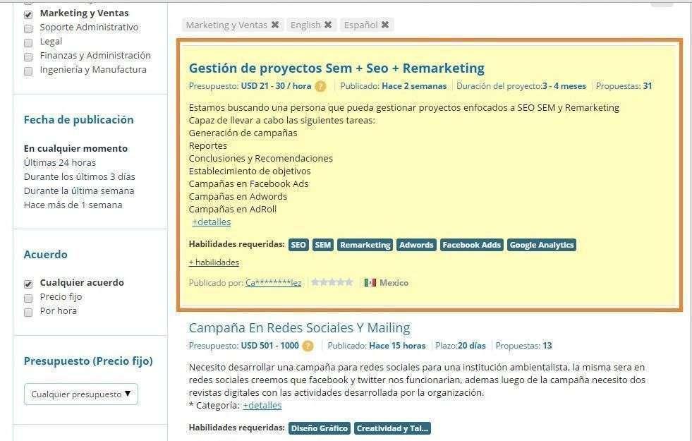 mejorar propuestas - proyecto destacado