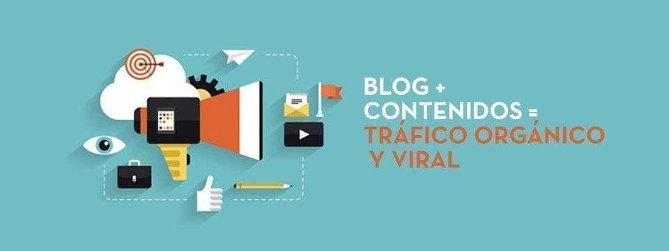 Blog = Contenidos para construcción de marca