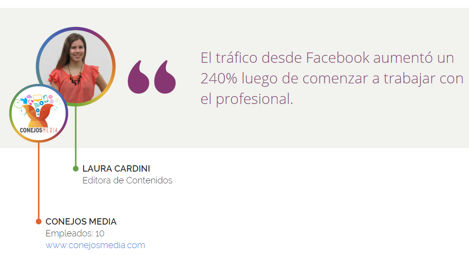 """Laura Cardini: """"Graças à Workana encontramos grandes talentos latino-americanos para mais de 70 projetos"""""""