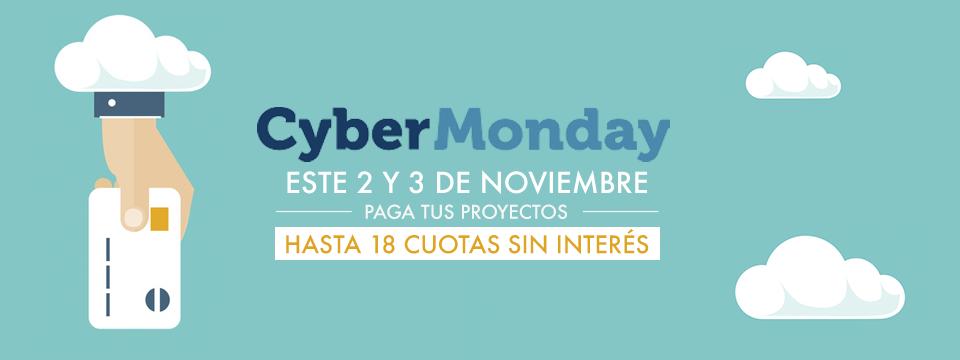 CyberMonday Argentina: Paga tus proyectos en 18 cuotas sin interés :)
