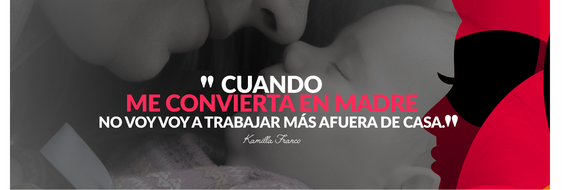 Kamilla Franco: Ser madre hizo que me convirtiera en freelancer