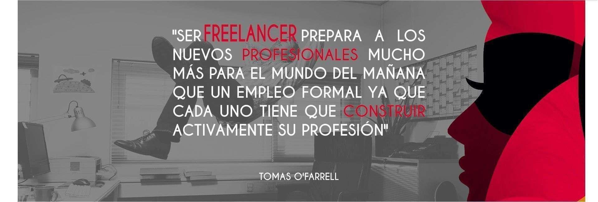 "Tomás O'Farrell: ""Siendo freelancer tenés que emprender y construir activamente tu profesión"""