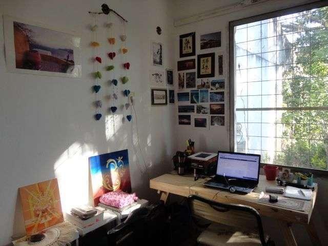 escritorio da silvia - trabalhando em meio a natureza