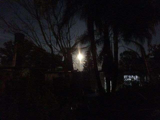 natureza - vista da lua na casa da silvia