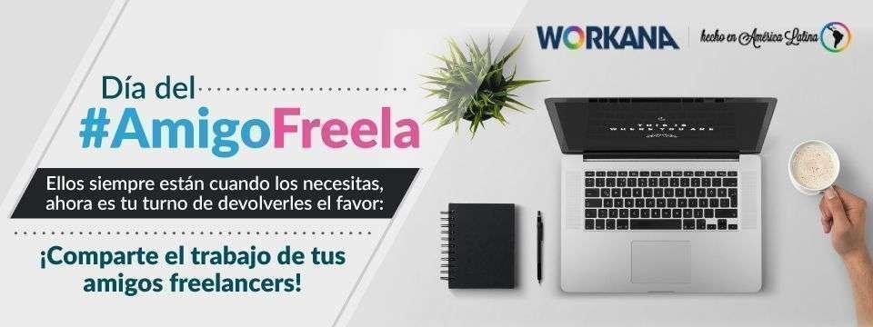 Día del #AmigoFreela, ¡comparte su trabajo!