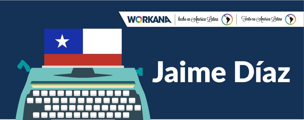 Freelancer, poeta y con aires de artista: Jaime Díaz