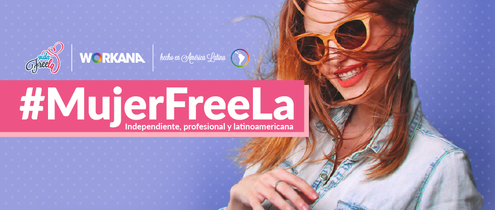 ¿Eres una Mujer Freela? ¡Agrega el sticker en tu perfil!