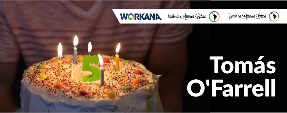 Aniversário da Workana: It's been 5 years!