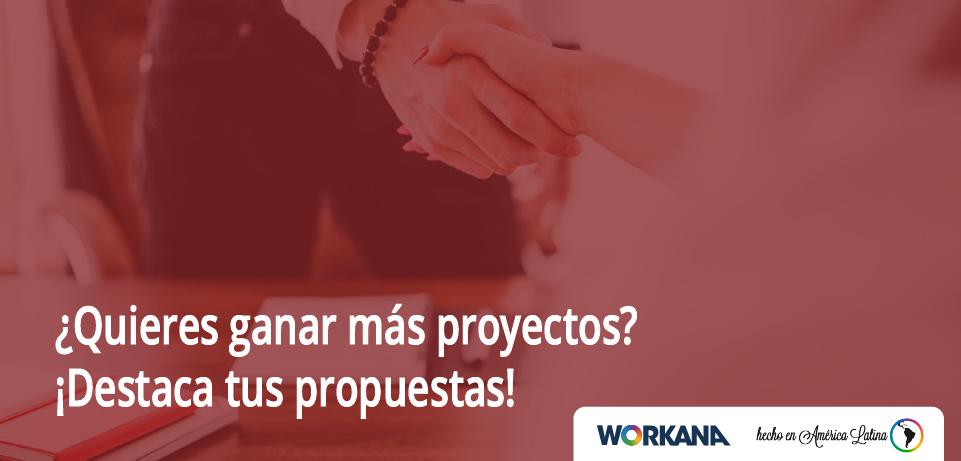 ¿Quieres ganar más proyectos? ¡Destaca tus propuestas!
