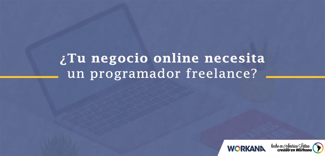 7 motivos para desarrollar tu negocio online con un programador freelance