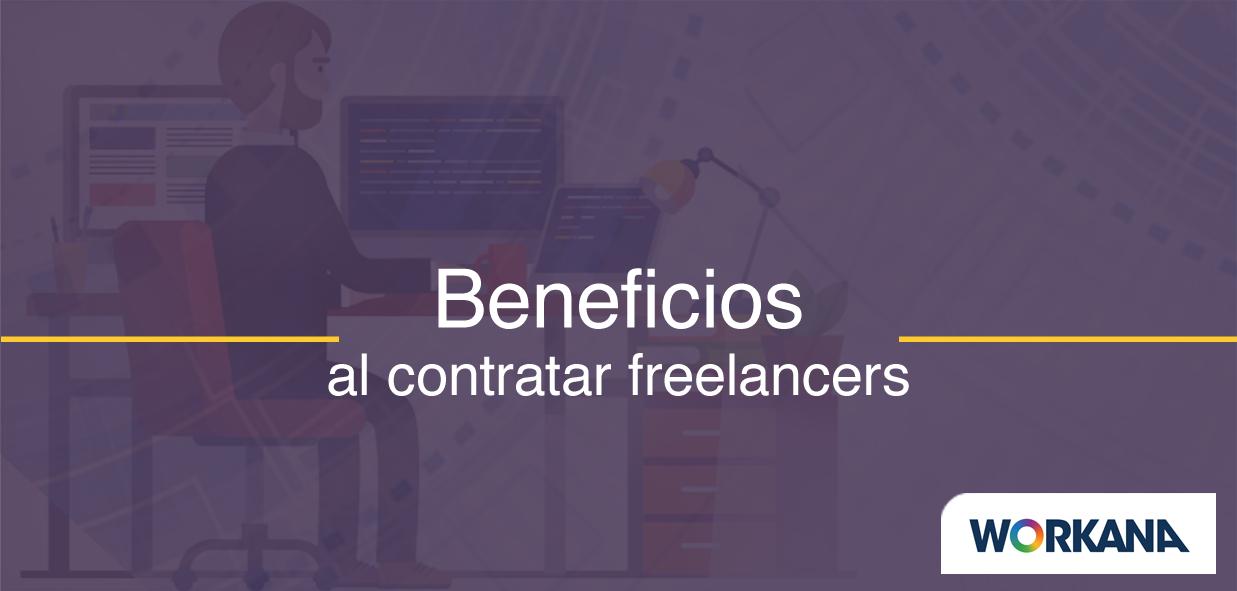 Benefícios al contratar freelancers