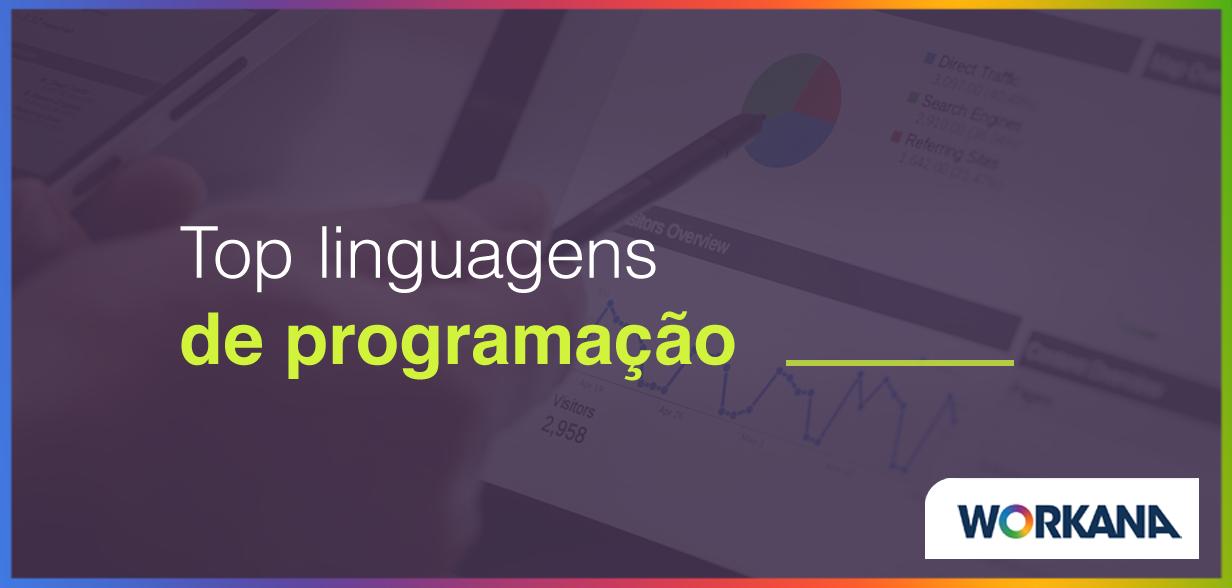 O Top 9 linguagens de programação de 2018