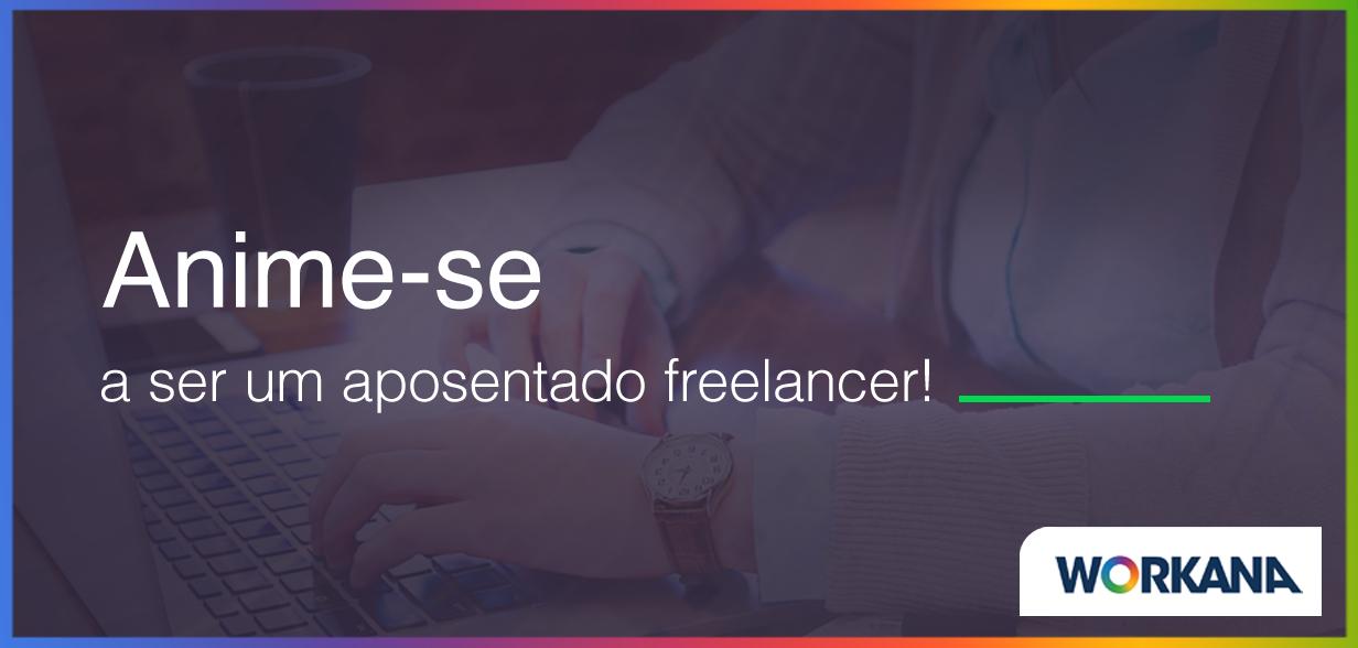 Aposentados trabalhando como freelancer: uma nova oportunidade