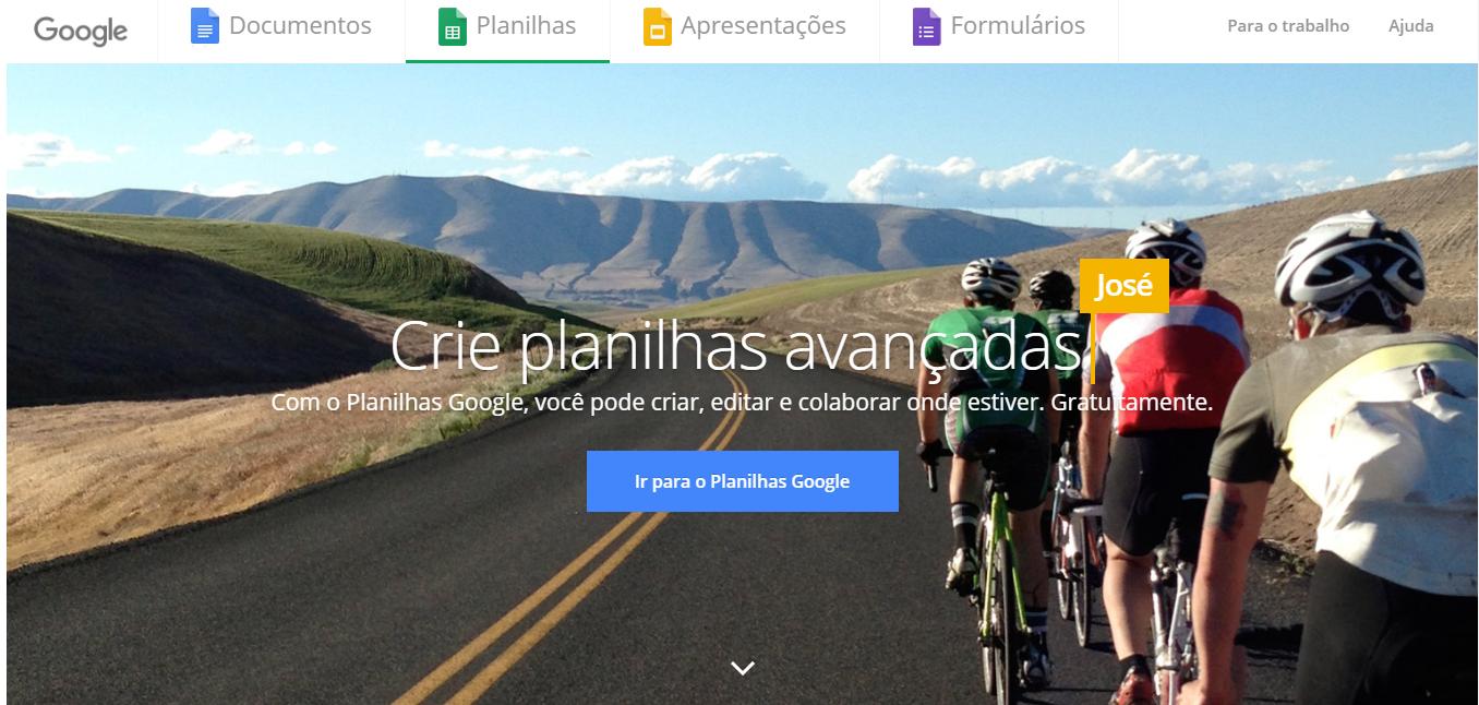 Planilhas Google