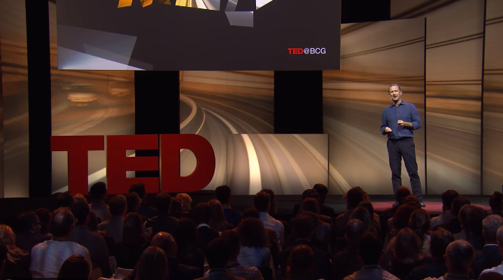 The best TED business talk summarized in five sentences