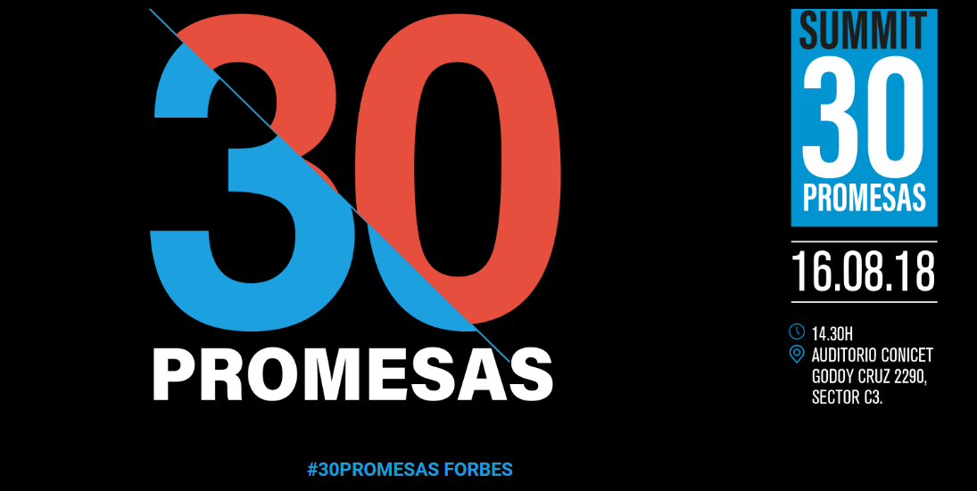"Workana was awarded as one of the ""30 Promises"" from Forbes Argentina"