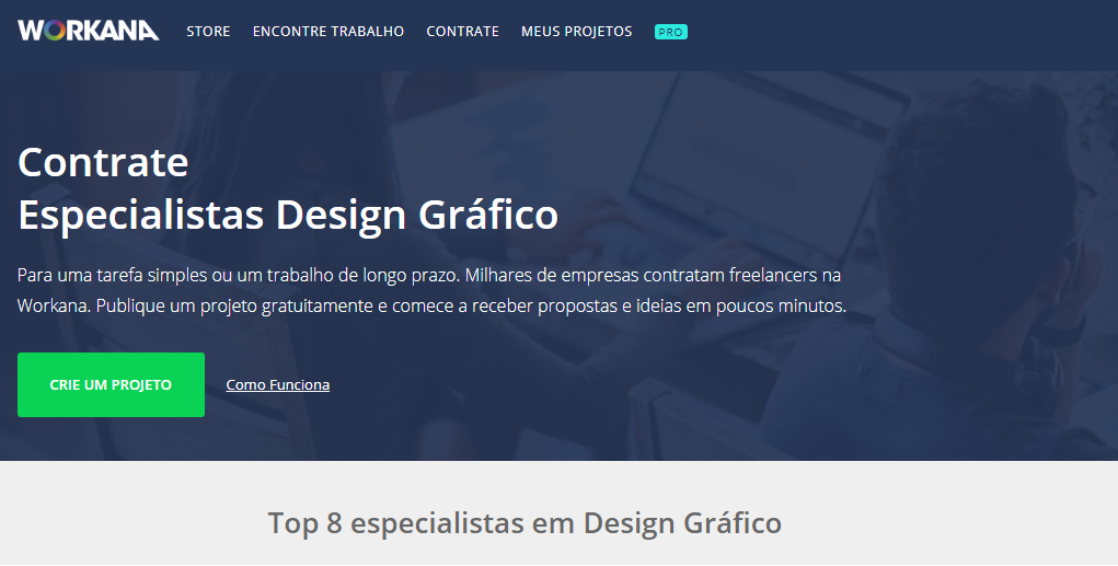 Design Gráfico Workana