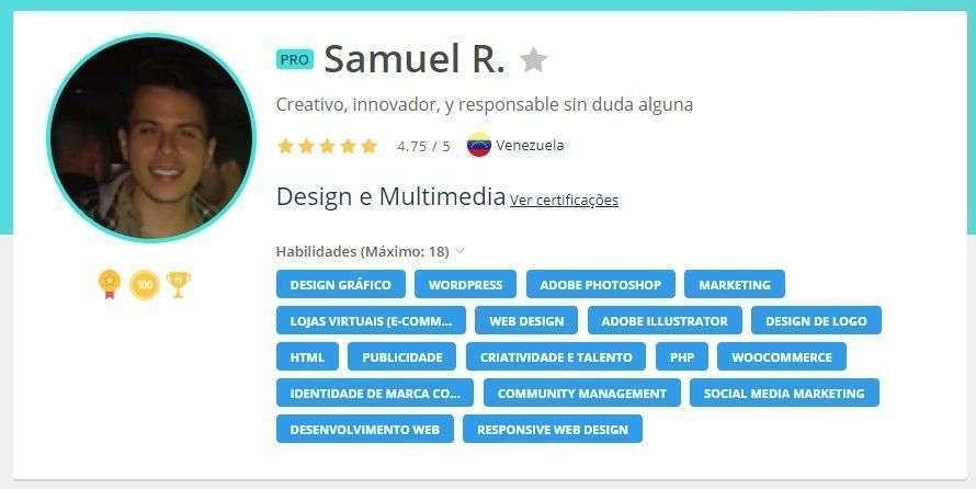 Sanuel Freelancer Workana