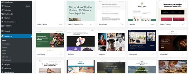 Cómo elegir plantillas de diseño en WordPress