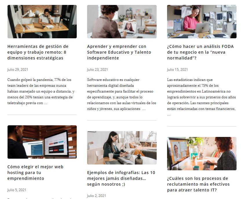 redacción comercial o empresarial: artículos para blogs